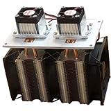 Comebuywide MonkeyClimb Enhanced Version 12V 12A 144W DIY Double Head Electronic Semiconductor Refrigerator Radiator…