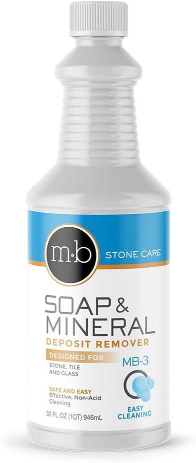 MB Stone Care Soap Film Remover, 1 US Quart