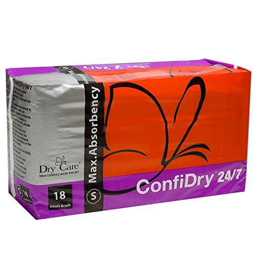 ConfiDry 24/7 Dry Care Max Absorbency Adult Brief Diapers...
