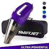 #8: SwiftJet Car Vacuum Cleaner - High Powered 4 KPA Suction Handheld Automotive Vacuum - 12V DC 120 Watt - 14.5