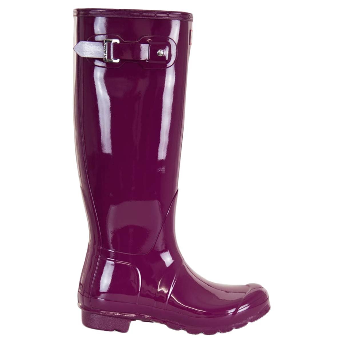 Hunter Women's Original Tall Gloss Violet Shoe