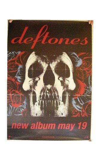The Deftones Poster Skull