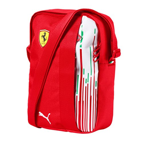 Ferrari Scuderia F1 Racing Team Puma Shoulder Bag Red Official 2018 by Ferrari