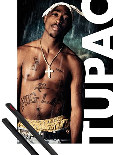 1art1 Poster + Hanger: 2pac Poster  Only God Can Judge Me 1