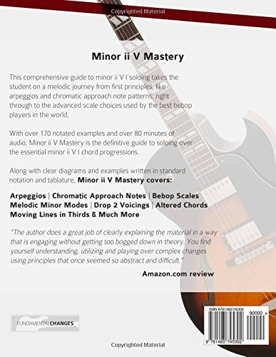 Minor ii V Mastery for Jazz Guitar: The Definitive Study Guide to
