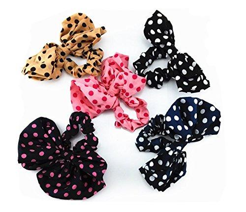 Ponytail Elastic Bowknot Headdress Headwear