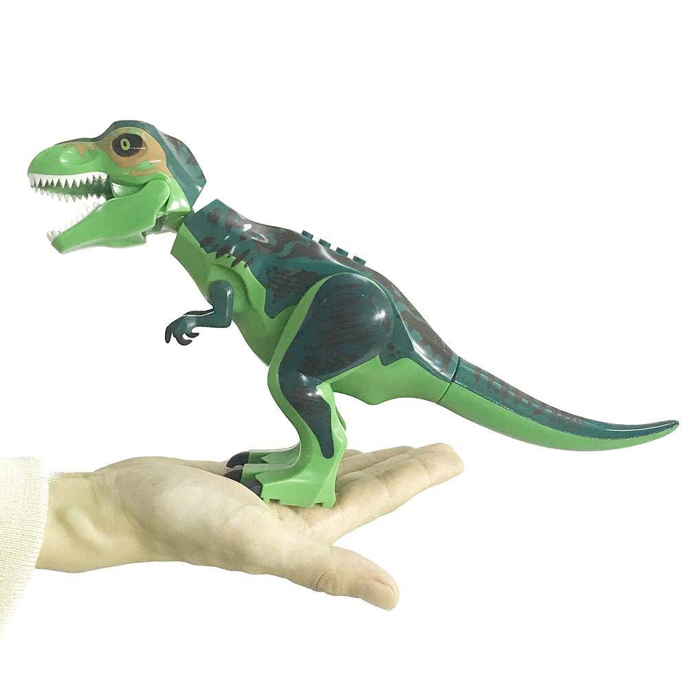 Househome Dinosauro Giocattolo per Bambini, Grande Indominus Rex Jurassic World Dinosaur Figure Blocchi, Building Blocks Giocattoli Dinosauro, Grande Regalo per Bambini Bambini Adolescenti