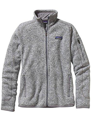 White Giacca Fleece Donna Jacke Birch Better Patagonia Sweater xaP0Ww