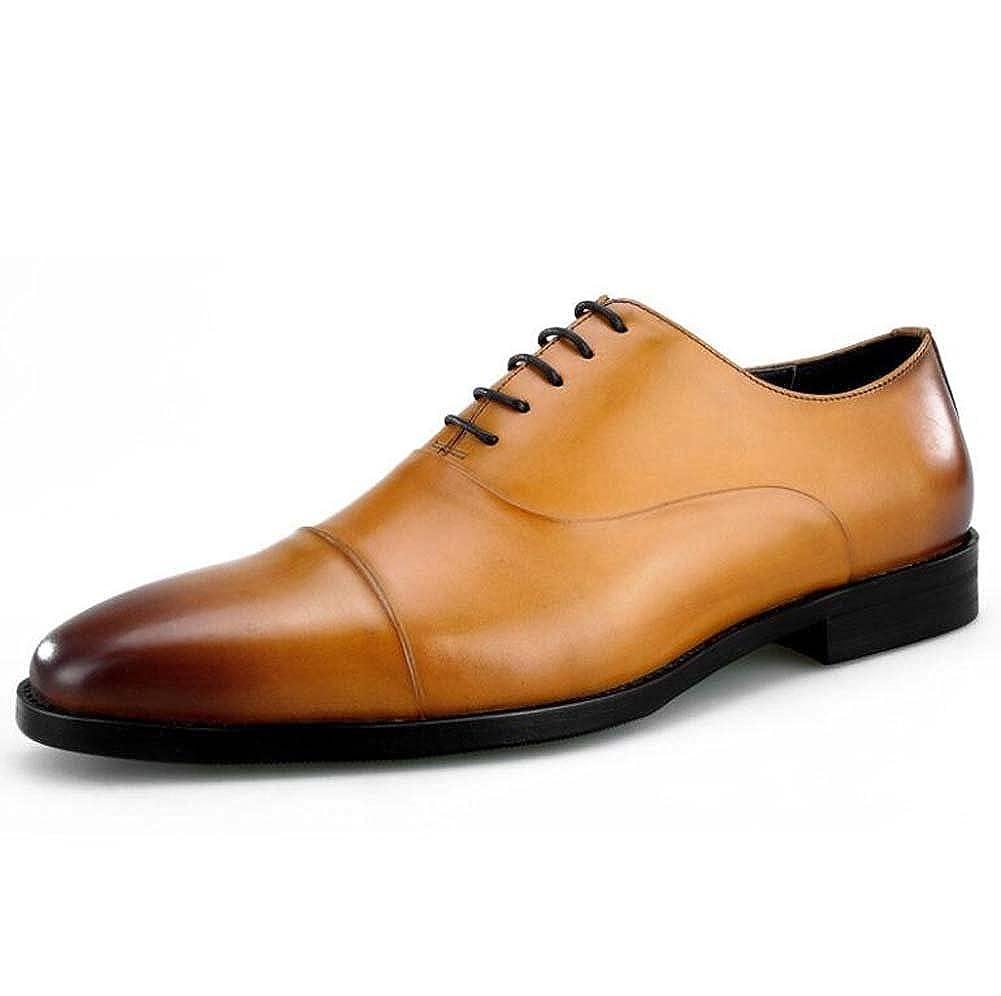 Männer Schuhe Square Head Drei Gelenke Britische Handgemachte Schuhe Erste Schicht Leder Anzüge Lederschuhe