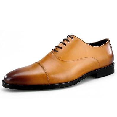 Zapatos de Hombre Cabeza Cuadrada Tres articulaciones ...