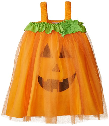 Mud Pie Baby Girl's Halloween Costume, Orange, 12 (Pumpkin Pie Halloween)