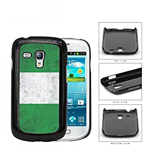 Nigerian Flag Grunge Surface Hard Plastic Snap On Cell Phone Case Samsung Galaxy S3 SIII Mini I8200
