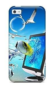 For Iphone 4/4S Case Cover Fashion Fantasy Desktop Case-AQBOagh4303GFLSw