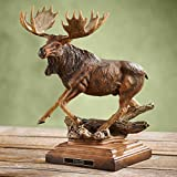 In His Prime - Moose Sculpture by Danny Edwards