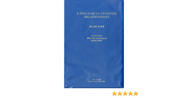 A diagram of synoptic relationships book diagram 2nd ed allan a diagram of synoptic relationships book diagram 2nd ed allan barr 9780567097248 amazon books ccuart Choice Image
