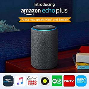 All-new Echo Plus (2nd gen) - Premium sound with a built-in smart home hub-Black