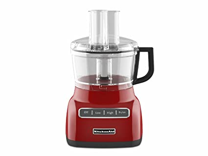 amazon com kitchenaid kfp0711er 7 cup food processor empire red