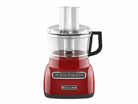 Amazon Kitchenaid Kfp0711er 7 Cup Food Processor Empire Red