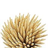 Prouten Thick Bamboo Sticks Caramel Candy Apple Sticks Corn Dog Skewers Corn Cob Sticks