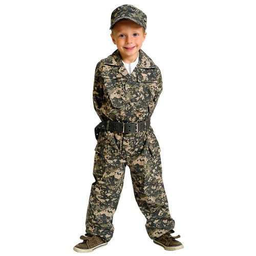 Aeromax Jr. Camouflage Suit with Cap and Belt, Size 4/6 from Aeromax