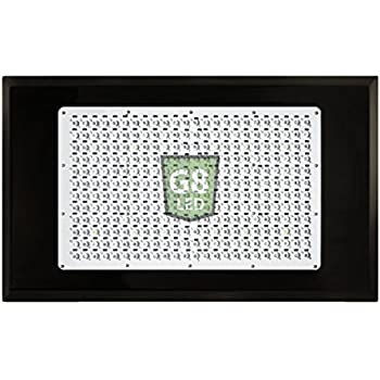 G8LED 900 Watt MEGA LED Veg/Flower Grow Light with Optimal 8-Band plus Infrared (IR) and Ultraviolet (UV) - 3 Watt Chips