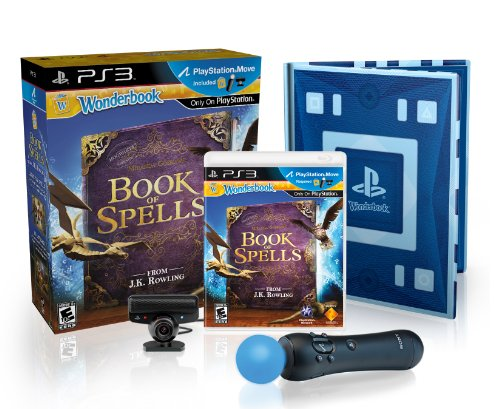 Price comparison product image Wonderbook: Book of Spells PlayStation Move Bundle