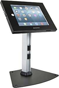 Monoprice Safe and Secure Tablet Desktop Display Stand for iPad 2-4 and iPad Air, Black