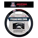 NCAA Arizona Wildcats Poly-Suede Steering Wheel Cover, One Size, Red
