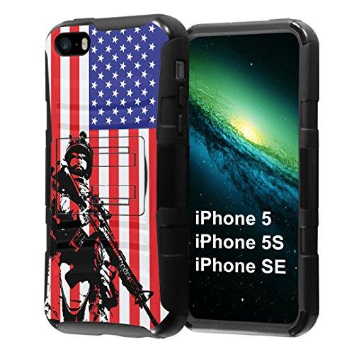 platinum iphone 5s case with clip - 6