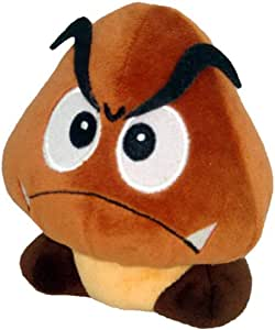 "Super Mario Plush - 5"" Goomba Soft Stuffed Plush Toy Japanese Import"