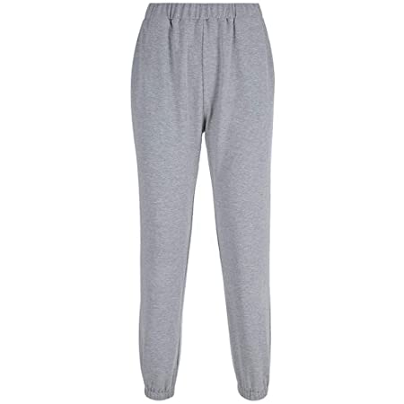 Pantalones de chándal Mujeres Pantalones de chándal casuales Color ...