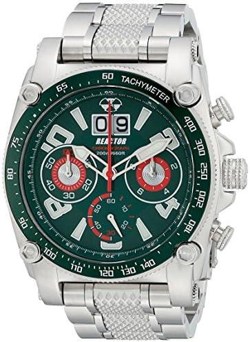REACTOR Men s 41009 Analog Display Japanese Quartz Silver Watch