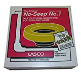 LASCO Toilet Bowl Wax Ring with Polyethylene Flange