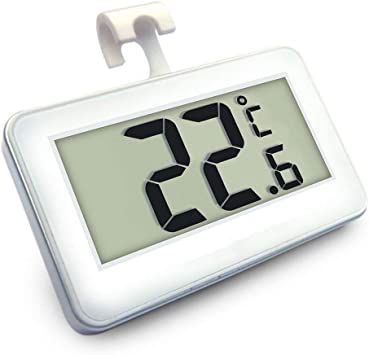 Romote Suo SI Frigorífico Termómetro, Mini LCD digital resistente ...