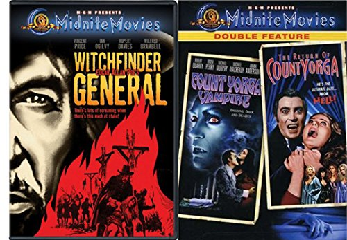 MGM Midnite Movies Witchfinder General & Count Yorga Vampire / The Return of Count Yorga DF 3-Movie Bundle