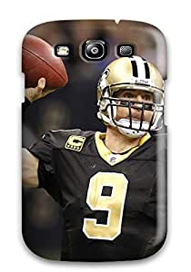 ENnohSL3089wfrYX Anti-scratch Case Cover Charles J Williams Protective Drew Brees Case For Galaxy S3