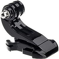 Knmaster Tüm Aksiyon Kameralara Uyumlu J Hook Evrensel Bağlantı Aparatı Unisex, Siyah, Tek Beden