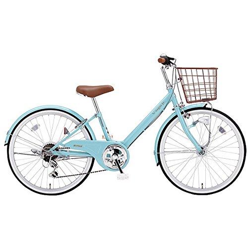 ミヤタ(MIYATA) 子供用 自転車 VサインJR CRVJ2468 (AB36) ヘイジーブルー B077NX7Z8F