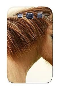 nazi diy Fashion Protective Animal Horse Case Cover Design For Galaxy S3