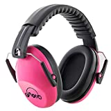 Fnova Kids Earmuffs / Hearing Protection for Shooting, Adjustable Headband Ear Defenders Comfort Fit Little Ones, Ideal for Sporting Races, Shopping Centers