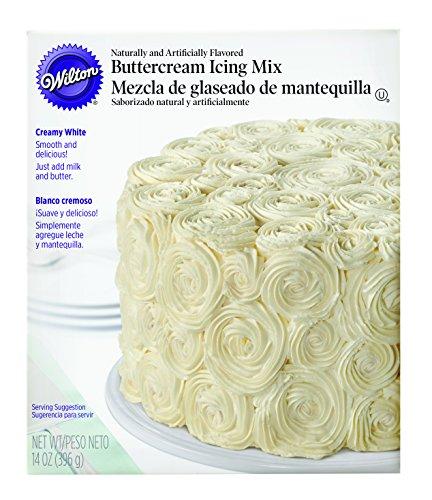 (Wilton Creamy White Buttercream Icing Mix - 14 Oz.)