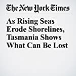As Rising Seas Erode Shorelines, Tasmania Shows What Can Be Lost | Justin Gillis