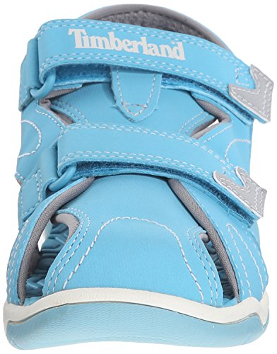 Timberland niños Unisex ADVENTURE Seeker Closed Toe Sandal (Toddler/Little Kid/Big Kid) Azul claro