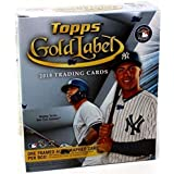 2018 Topps Gold Label Baseball Hobby Box (7 Packs/5 Cards: 1 Auto, 4 Parallels)