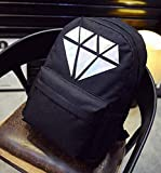 [SD8012]Shoulder bag for Unisex(Black)