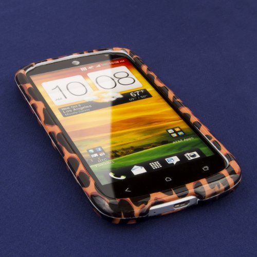 EMPIRE Full Coverage Brown Leopard Case for HTC One VX