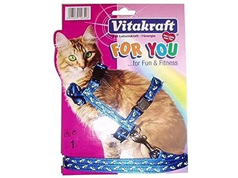 VITAKRAFT 1571260031 - arnés para Gato Standard Nylon: Amazon.es: Productos para mascotas