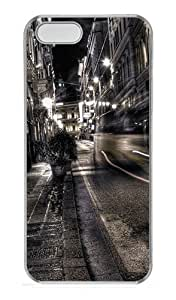 iPhone 5S Cases & Covers -Gray City Night Custom PC Hard Case Cover for iPhone 5/5S ¨CTransparent