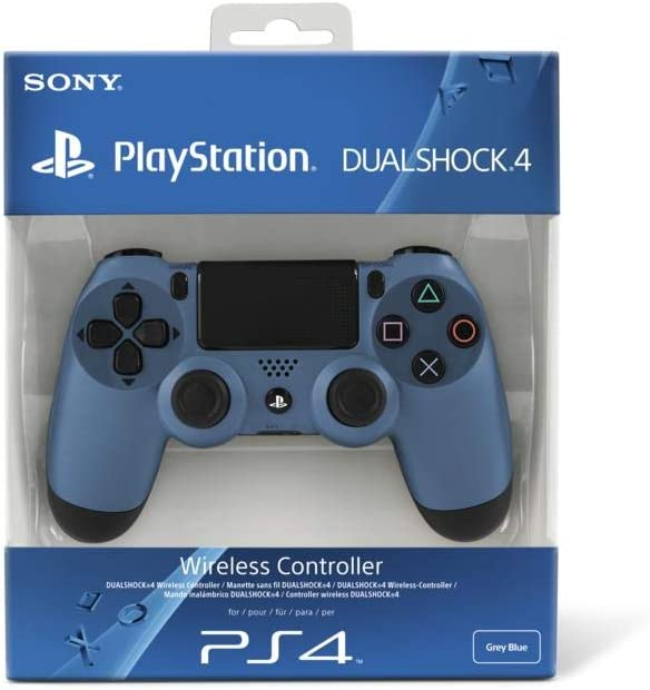 Playstation 4 - Dualshock 4 Wireless Controller Uncharted 4: A Thiefs End Design, Grau-Blau [Importación Alemana]: Amazon.es: Videojuegos