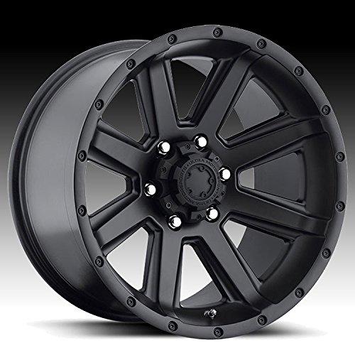 Ultra 195 Crusher Satin Black 16x8 6x4.5 15mm (195-6886SB) 04 Dodge Dakota Sb